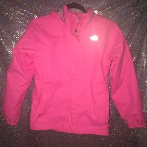 The North Face child jacket hot light pink